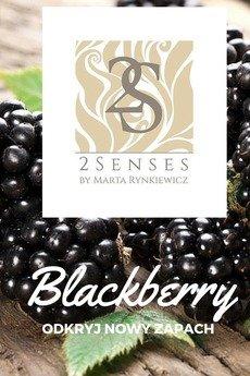 2 senses by Marta Rynkiewicz - Świeca do masażu 2 senses  Blackberry