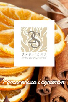2 senses by Marta Rynkiewicz - Świeca do masażu 2 senses Pomarańcza i cynamon