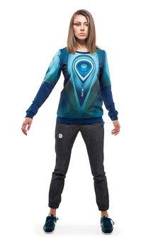 OKUAKU - Orbit Sweatshirt (Navy Blue)