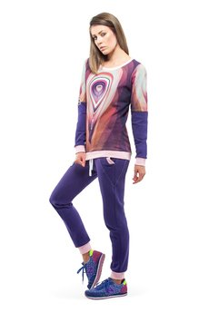 OKUAKU - Orbit Sweatshirt (Violet)