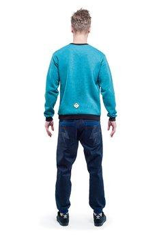 OKUAKU - Logo Sweatshirt (Turquoise)