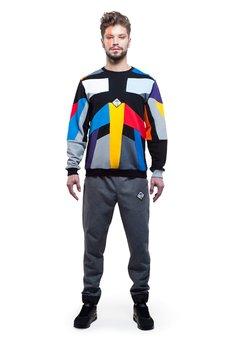 OKUAKU - Kalejdoscope Sweatshirt (Colour)