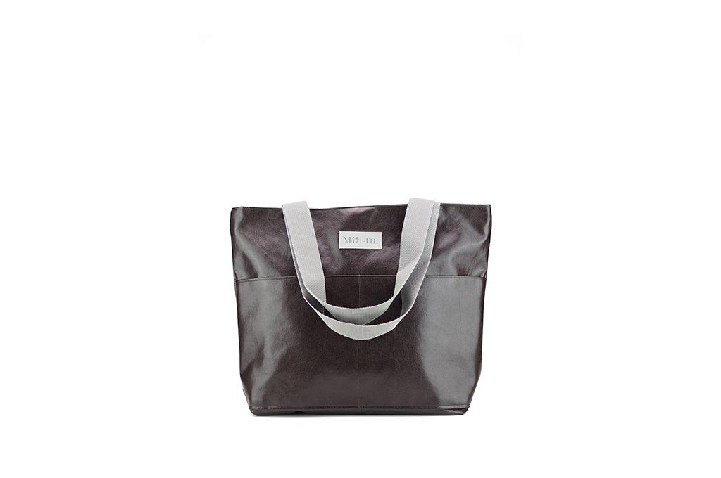 02a38ca9018a4 Torba Typu Shopper Mili City Bag - Brązowa - Brązowy