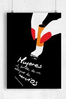 goorska - KOBIETY - minimalistyczny plakat filmowy