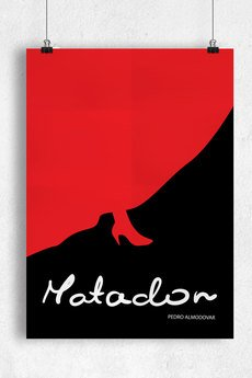 goorska - MATADOR - minimalistyczny plakat filmowy