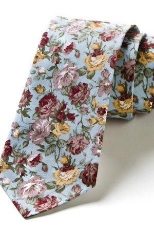 Krawat męski w kwiaty PATONES