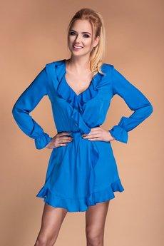 Sukienka blue escote