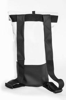 BABA - Zwijany plecak | biały