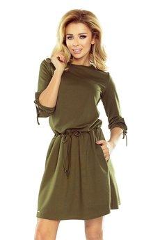 Sukienka pretty khaki luzna