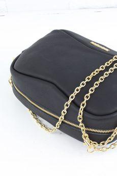 FABIOLA - Skórzana Fabulous #9 black classic GOLD L-D