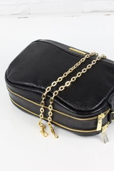 - Skórzana Fabulous II Black snake GOLD