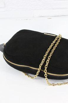Skorzana fabulous czarny gold z d