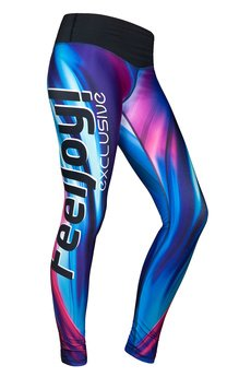 Legginsy exclusive blue wave