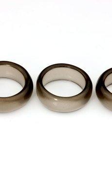 Brazi Druse Jewelry - InspiRING Kwarc Dymny Obrączka