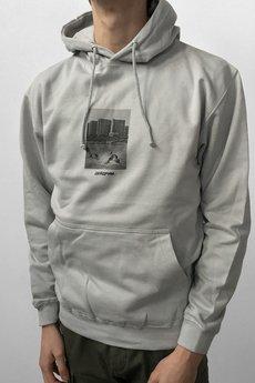Utopia concrete gray hoodie