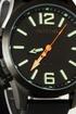 Zegarek oozoo steel os411 black lumi