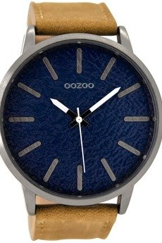 - Zegarek OOZOO C9026 brown/blue