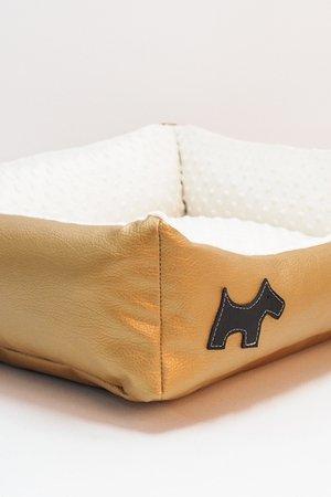 Legowisko dla psa EKOSKÓRA (M) - 92565