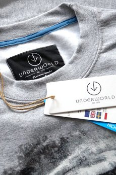 Underworld - Bluza UNDERWORLD casual Wilk