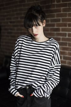The Hive - OVERSIZED STRIPES LONGSLEEVE