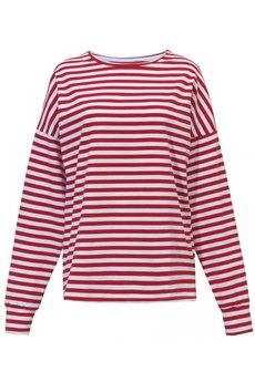 Red stripes longsleeve