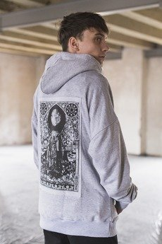 Relentless hoodie in cool grey