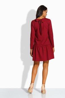 Lemoniade - LEMONIADE  L218 Elegancka sukienka z kokardą