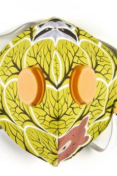 HisOutfit - Maska antysmogowa z węglem aktywnym LAS + 1 filtr