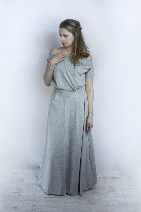 f021fa0560 Sukienki Rękaw 3 4 Sukienki Bawełniane Sukienki Maxi Sukienki Dzianinowe
