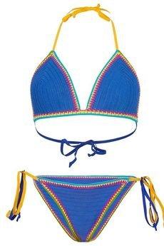 - Kostium kąpielowy Santorini niebieski