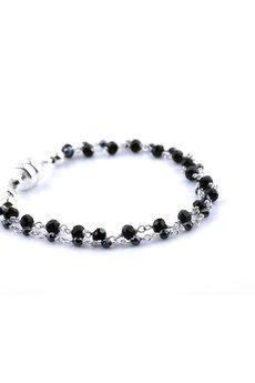 Brazi Druse Jewelry - Bransoletka Spinel srebro