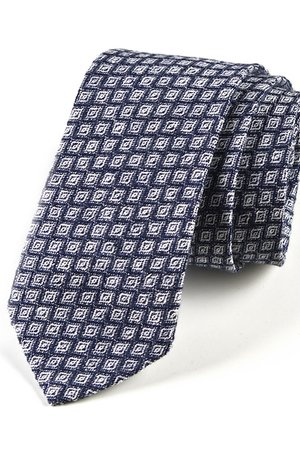 Krawat męski JEDWAB KÓŁKA