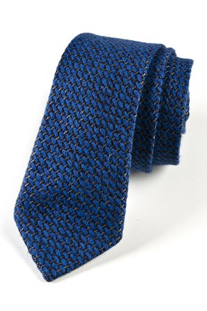 Krawat męski JEDWAB WZOREK