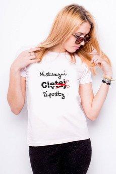 Tailormade24 - Koszulka damska MISTRZYNI CIĘTEJ RIPOSTY