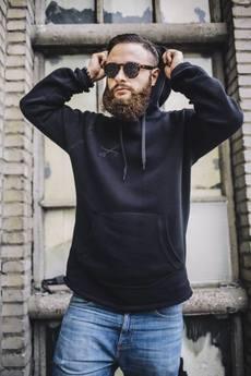The Urban Beard - Bluza All Black