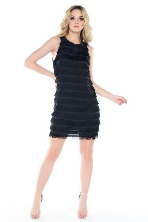 Sukienka z frędzlami Colette