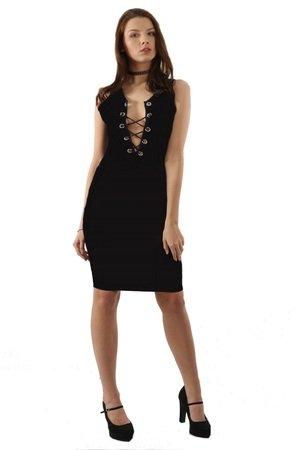 Sukienka czarna Peggy