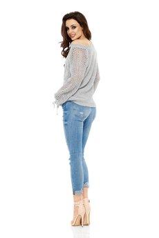 Lemoniade - LEMONIADE  Modny ażurowy sweter LS201