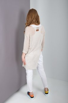 MeMola - Sweter asymetryczny CARMEN