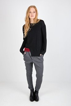 MeMola - Sweter asymetryczny ELENA SWEATER