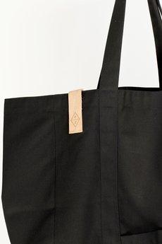 PROUDLY DESIGNED - OVERSIZE STREET BAG – Czarna