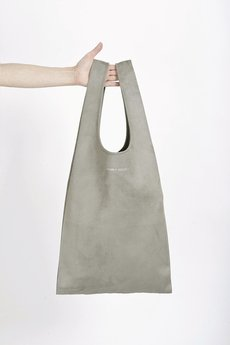 PROUDLY DESIGNED - HOBO BAG - Jasno-szara