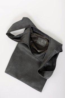 PROUDLY DESIGNED - HOBO BAG - Grafitowa