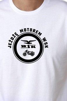 Koszulka meska motor wsk