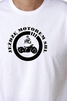 Koszulka meska motor shl
