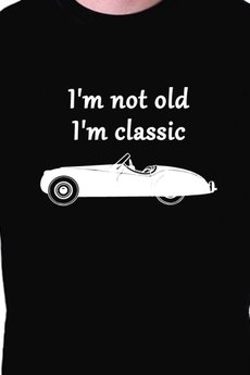 - T-shirt męski I'm not old I'm classic