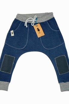 cudiKiDS - Niebieskie spodnie BAGGY