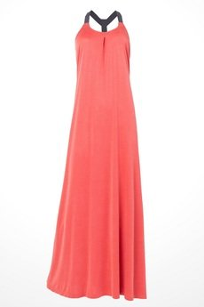 "Candy Floss - sukienka maxi ""Orange"""