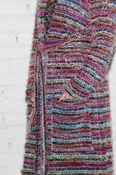 "Candy Floss - sweter ""boho look"""