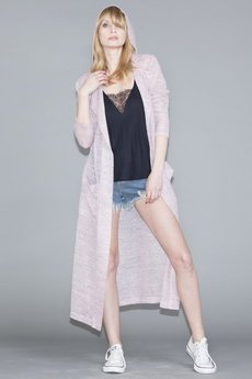 "Candy Floss - sweter ""soft pink"""